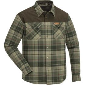 Pinewood Douglas Camiseta Hombre, green/darkgreen